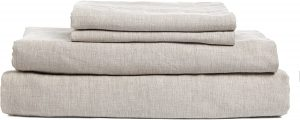 DAPU Pure Stone Washed Linen Set