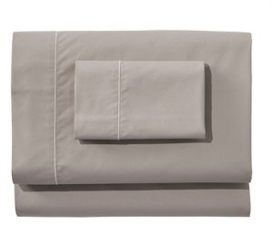 L.L Bean Egyptian Percale Sheet Collection