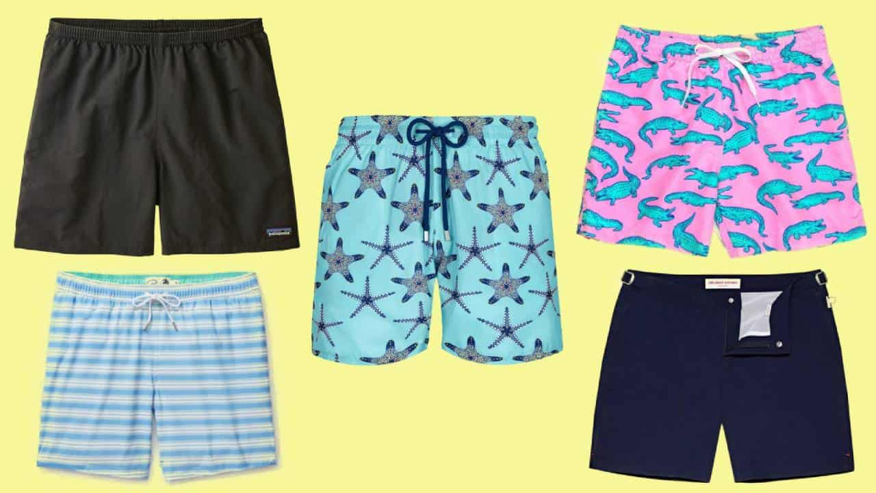 Five of the most comfortable men's swim trunks