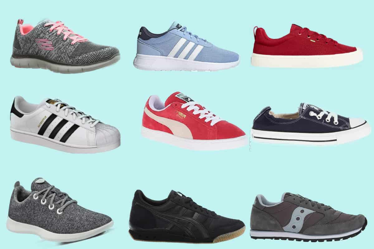 Nine of the most comfortable sneakers for women