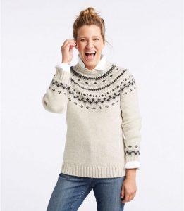 Women's L.L.Bean Classic Ragg Wool Sweater