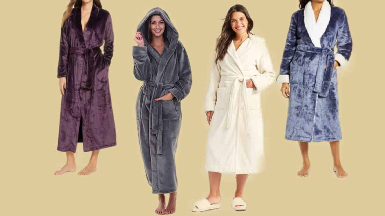 Four of the most comfortable plush robes for women