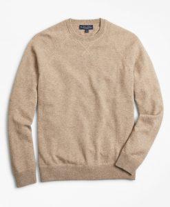 Brooks Brothers Two-ply Cashmere Raglan Crewneck Sweater