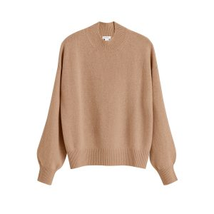 Cuyana Recycled Cashmere Mock Neck