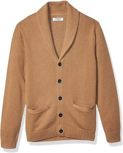 Goodthreads Men's Soft Cotton Shawl Cardigan