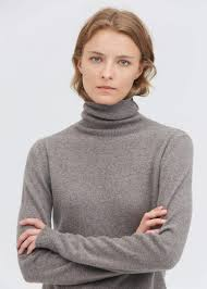 LilySilk Pure Cashmere Turtleneck Sweater