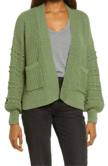 Madewell Bobble Cardigan Sweater