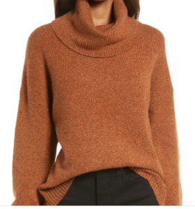 Treasure&Bond Rust Colored Sweater