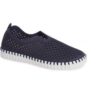 Ilse Jacobsen 139 Perforated Slip-On Sneaker