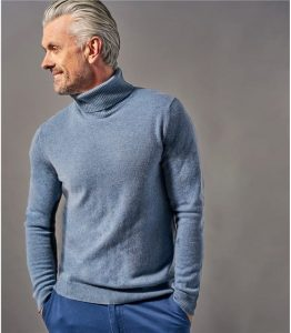 Woolovers Pure Cashmere Turtleneck