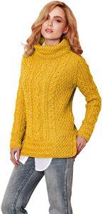 Carraig Donn 100% Soft Merino Wool Irish Jumper