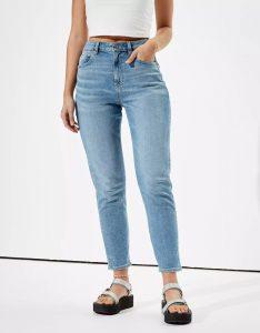 AE Stretch Mom Jeans