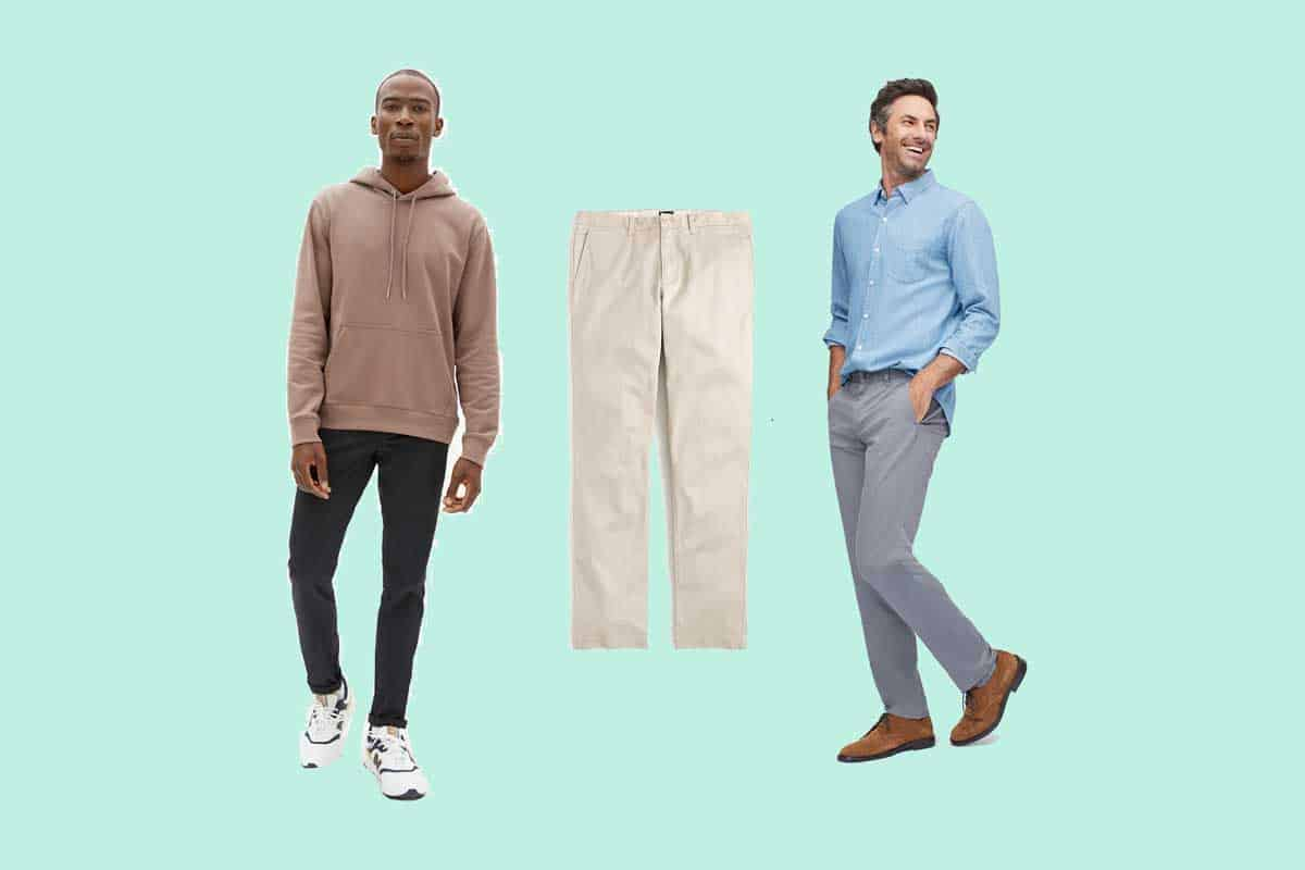 14 of the Most Comfortable Men's Business Casual Work Pants