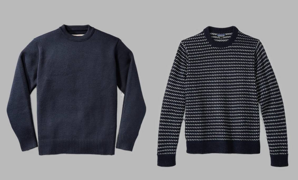 Most comfortable men's wool sweaters