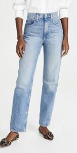 Trave Paloma High Waist Straight Leg Jeans