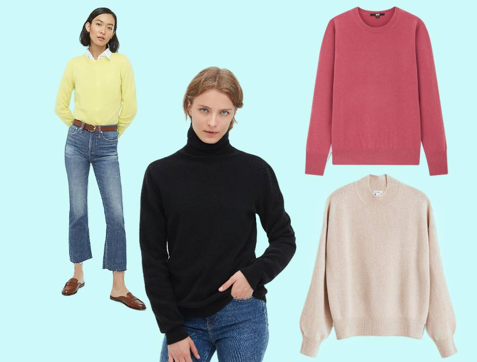 The Most Comfortable Women's Cashmere Sweaters for Every Budget