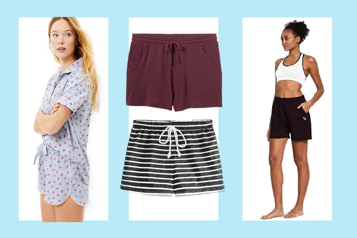 The Most Comfortable Women's Lounge Shorts