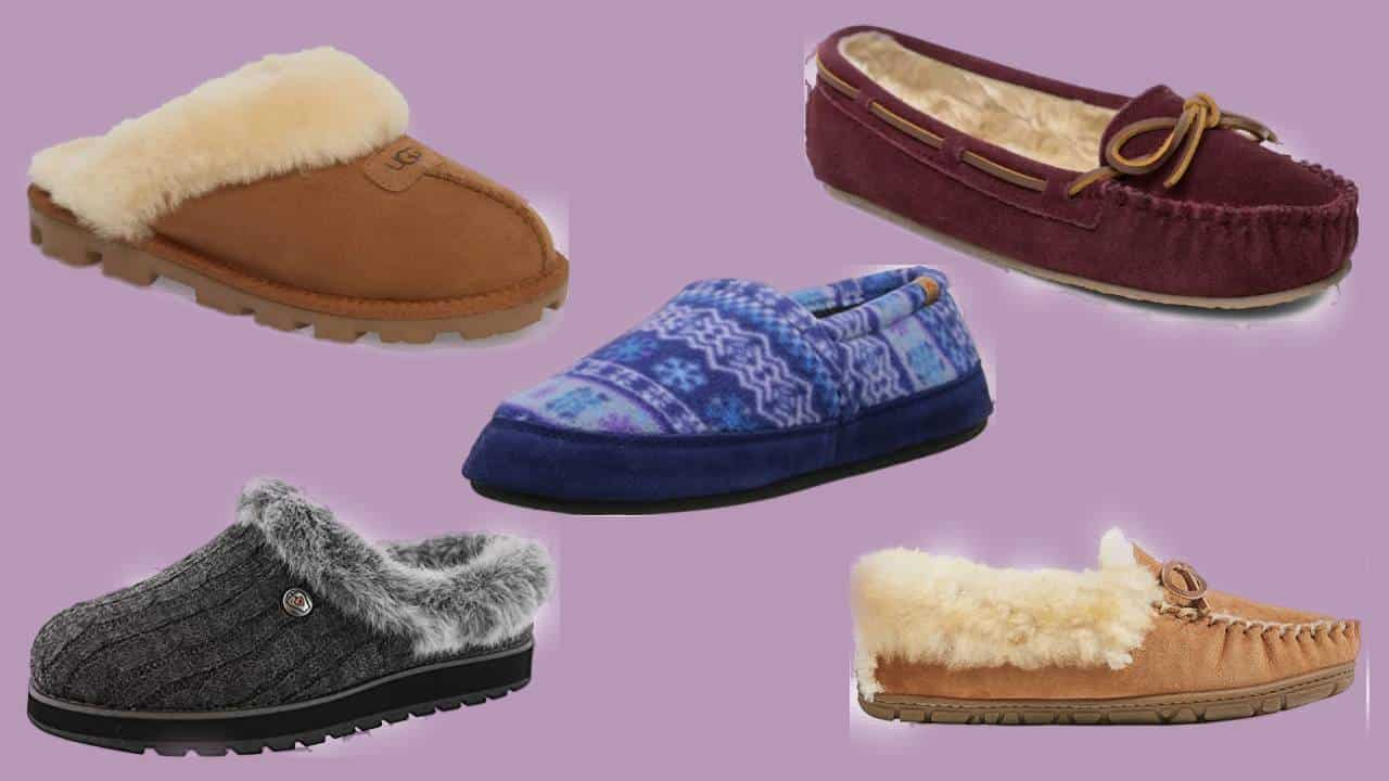 Five of the most comfortable women's slippers.