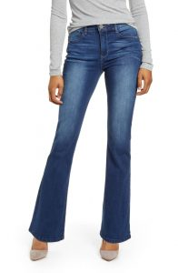Wit & Wisdom Ab-Solution High Waist Itty Bitty Bootcut Jeans