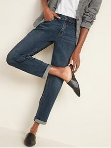 Old Navy Mid-Rise Boyfriend Straight Jeans