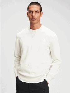 Gap vintage soft crewneck sweatshirt in cream