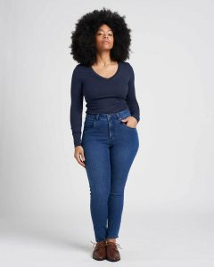 Universal Standard Seine High Rise Skinnies