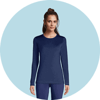 :ands' End women thermal underwear