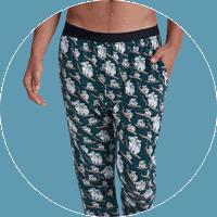 Patterned Meundies men's lounge pants