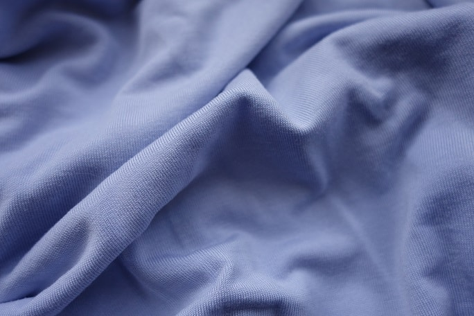 Close up of modal fabric