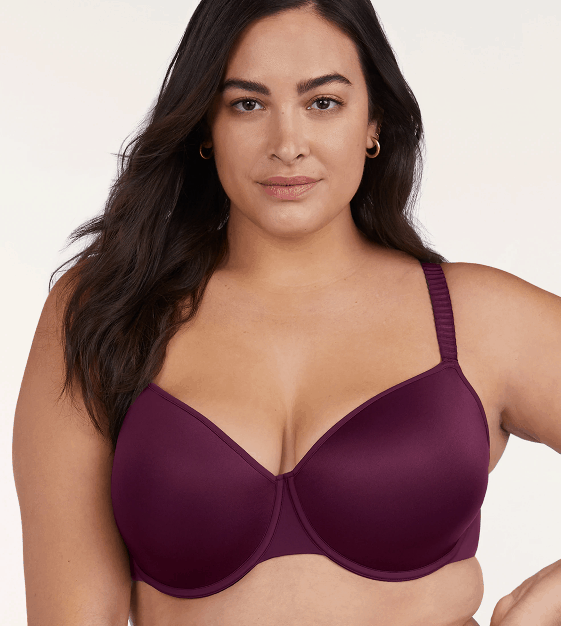 Rich toned padded underwire bra