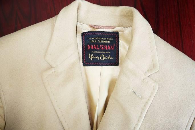 Vintage men's cashmere coat