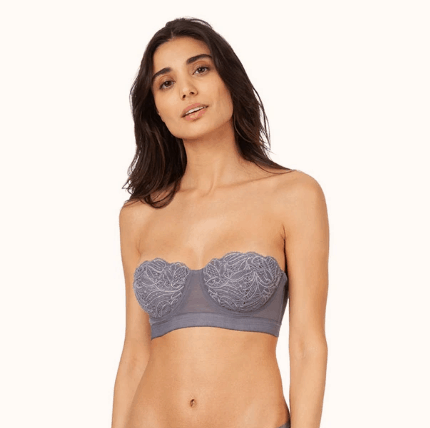 Lively Lace Strapless