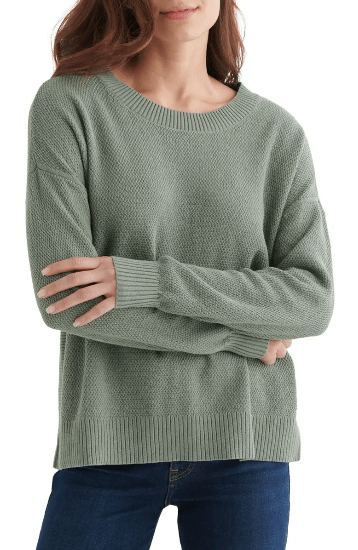 Lucky Brand Textured Sweater