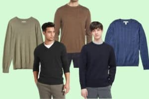 Five examples of the best men's lightweight sweaters