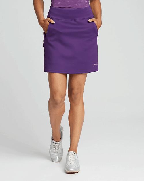 Annika Interval Skort in purple