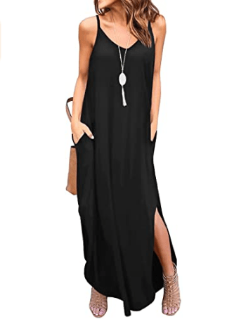 GRECERELLE black long dress