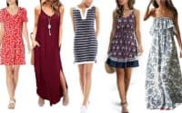 Comfy and affordable summer dresses