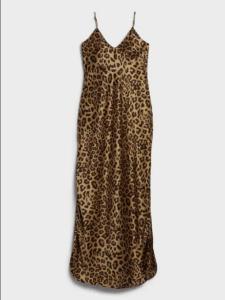 Silk Maxi Slip Dress
