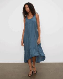 club monaco Silk Parachute Maxi Dress