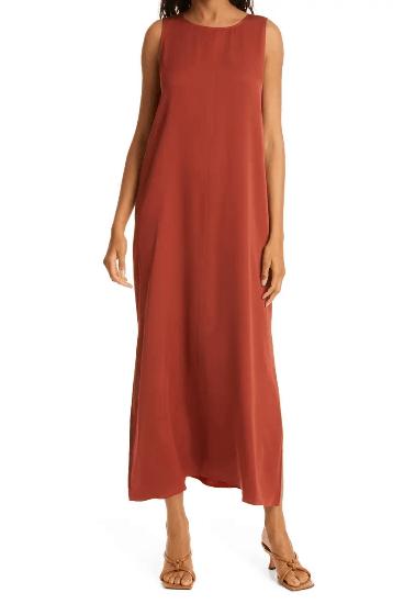 Nordstrom Stretch Silk Tank Dress.